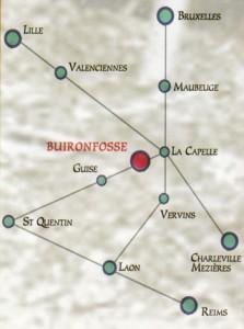 Situation du Musée du Sabot de Buironfosse