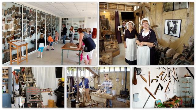 Plusieurs salles composent la visite du Musée du Sabot de Buironfosse